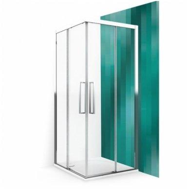 Roltechnik keturkampė dušo kabina ECS2L+ECS2P
