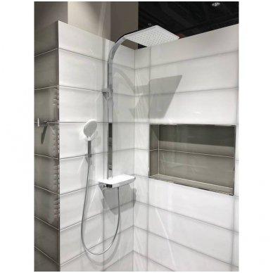 Termostatinė dušo sistema Paffoni Moby rain shower 2