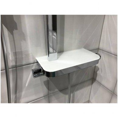 Termostatinė dušo sistema Paffoni Moby rain shower 3