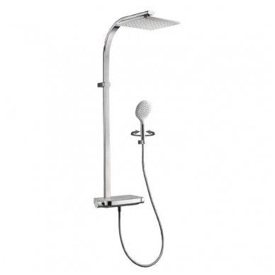 Termostatinė dušo sistema Paffoni Moby rain shower 4
