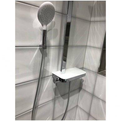 Termostatinė dušo sistema Paffoni Moby rain shower 5