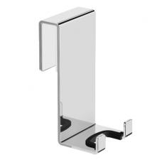 Dvigubas kabliukas tvirtinamas ant dušo kabinos sienelės Omnires Uni UN10350