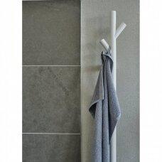 Elektrinis rankšluosčių džiovintuvas Smedbo baltos matinės spalvos