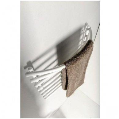 Baltas elektrinis rankšluosčių džiovintuvas Sapho SU110A 3