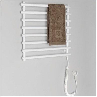 Baltas elektrinis rankšluosčių džiovintuvas Sapho SU110A 2