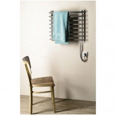 Pilkas elektrinis rankšluosčių džiovintuvas Sapho SU210A 4