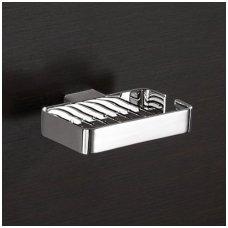 Gedy tinklinė muilinė, 25x9,6x3,5, cm, chromuota