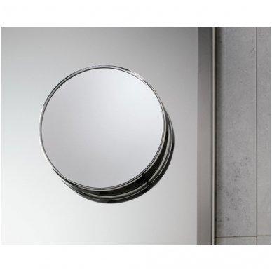 Gedy kosmetinis veidrodis, 5x d=20, chromuotas 2