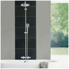 Grohe New Tempesta Cosmopolitan 210 virštinkinė termostatinė dušo sistema su snapu
