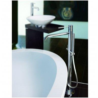 Grindinis maišytuvas voniai su rankiniu dušu Paffoni Light (spalvų pasirinkimas) 2