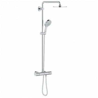 Grohe dušo komplektas su termostatiniu maišytuvu Rainshower System 210 27967000