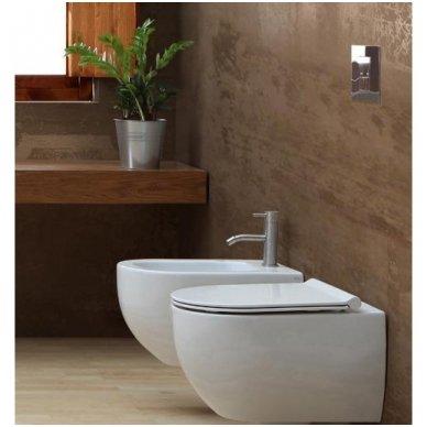 GROHE ir Alice Ceramica Unica RIMLESS su SLIM soft close WC komplektas 4