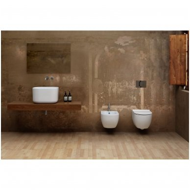 GROHE ir Alice Ceramica Unica RIMLESS su SLIM soft close WC komplektas 12