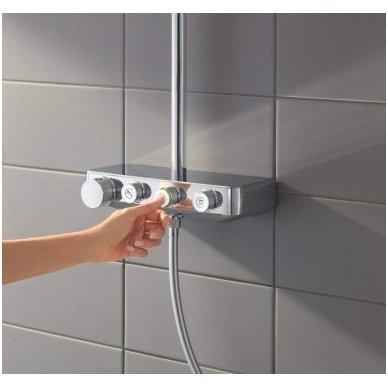 Grohe termostatinė lietaus dušo sistema Euphoria SmartControl 310 Duo Kvadratinė 3