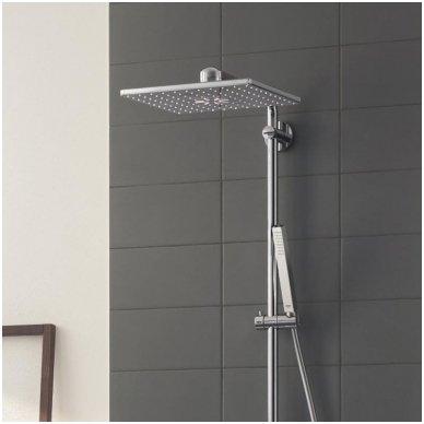 Grohe termostatinė lietaus dušo sistema Euphoria SmartControl 310 Duo Kvadratinė 2