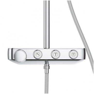 Grohe termostatinė lietaus dušo sistema Euphoria SmartControl 310 Duo Kvadratinė 6