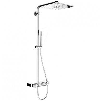 Grohe termostatinė lietaus dušo sistema Euphoria SmartControl 310 Duo Kvadratinė 7
