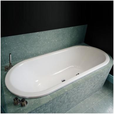 Įleidžiama plieninė vonia Kaldewei Classic Duo Oval
