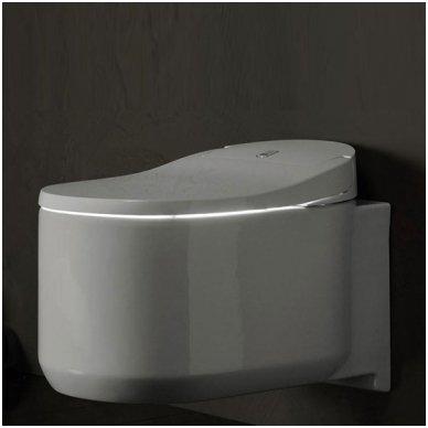Išmaniojo WC Grohe Sensia Arena su apiplovimo funkcija ir automatiniu dangčiu komplektas 5