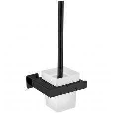 Juodas tualetinis šepetys Omnires Nelson NL80620