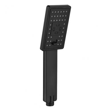 Juoda potinkinė termostatinė dušo sistema Omnires SYS PM11 3