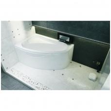 Kampinė vonia RIHO Lyra 170x110 cm