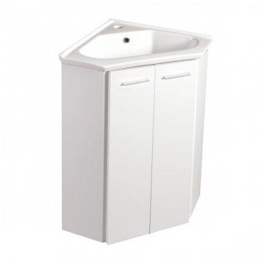 Kampinė vonios spintelė Zoja
