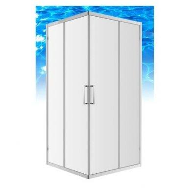 Keturkampė dušo kabina Omnires Chelsea NDC80X 3