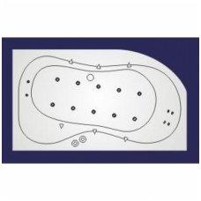 Koller vandens ir oro masažinė sistema voniai Whirlpool LUX 4