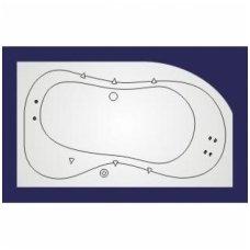 Koller vandens masažinė sistema voniai Whirlpool LUX 3
