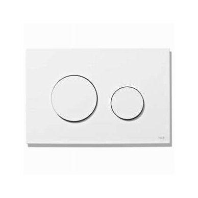 Komplektas: potinkinis bakelis Tece su mygtuku Loop+ Kerasan Flo pristatomas WC 2