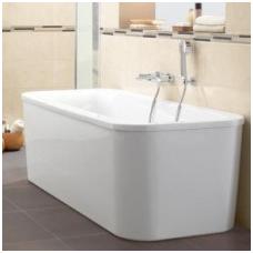 Laisvai pastatoma akrilinė vonia Villeroy&Boch Loop & Friends Duo 180x80