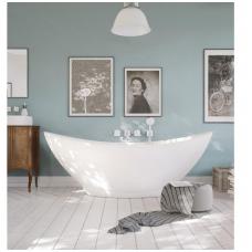 Laisvai pastatoma lieto akmens vonia PAA Felice Silk 1945x830