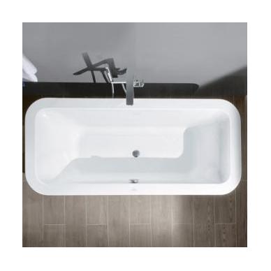 Laisvai pastatoma akrilinė vonia Villeroy&Boch Loop & Friends Duo 180x80 2