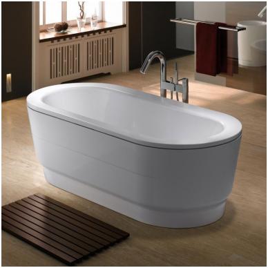 Laisvai pastatoma plieninė vonia Kaldewei Classic Duo Oval Wide 180x80