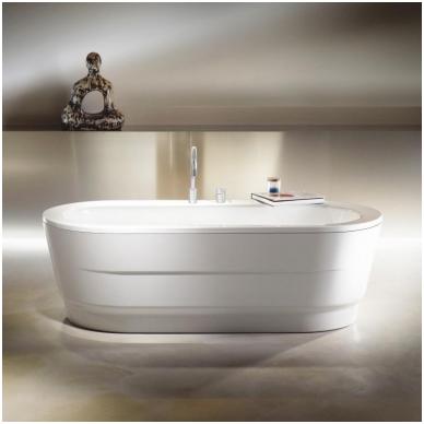 Laisvai pastatoma plieninė vonia Kaldewei Classic Duo Oval Wide 180x80 2
