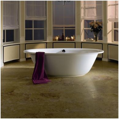 Laisvai pastatoma plieninė vonia Kaldewei Ellipsio Duo Oval 190x100