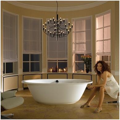 Laisvai pastatoma plieninė vonia Kaldewei Ellipsio Duo Oval 190x100 2