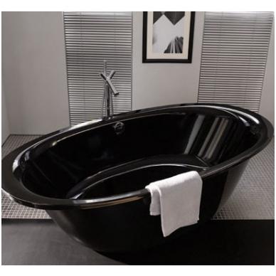 Laisvai pastatoma plieninė vonia Kaldewei Ellipsio Duo Oval 190x100 5