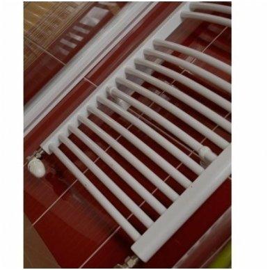 Lenktas elektrinis rankšluosčių džiovintuvas - kopetėlės Thermal Trend KDO 4