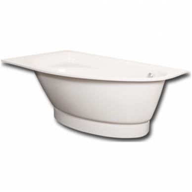 Lieto akmens kampinė vonia PAA Tre Grande 170x100 3