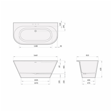 Lieto akmens vonia PAA Deco Wall 1660x810 2
