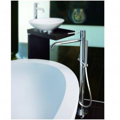 Grindinis maišytuvas voniai su rankiniu dušu Paffoni Light (spalvų pasirinkimas)