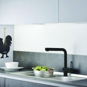Maišytuvas virtuvės plautuvei su ištraukiama žarna Paffoni Ringo (spalvų pasirinkimas)