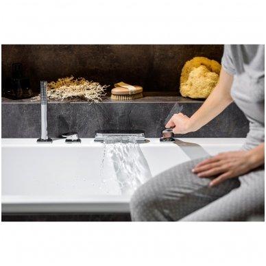 Maišytuvas voniai su krioklio tipo snapu Ravak Chrome (keturių dalių) 3