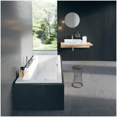 Maišytuvas voniai su krioklio tipo snapu Ravak Chrome (keturių dalių) 5
