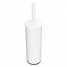 Pastatomas/pakabinamas tualetinio šepečio laikiklis su šepečiu Bemeta White