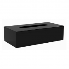 Nerūdijančio plieno popierinių nosinių dėžutė Bemeta Dark