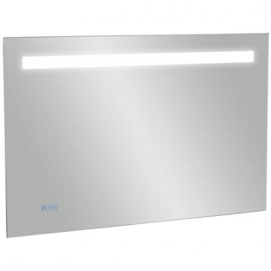 Nerasojantis Kohler veidrodis 100x65 cm su LED un laikrodžiu IP 44