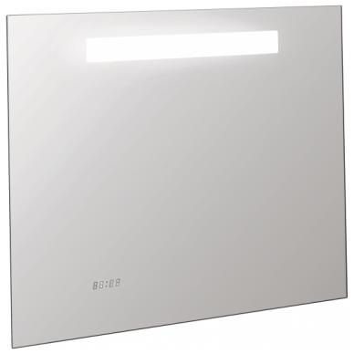 Nerasojantis Kohler veidrodis 80x65 cm su LED un laikrodžiu IP 44